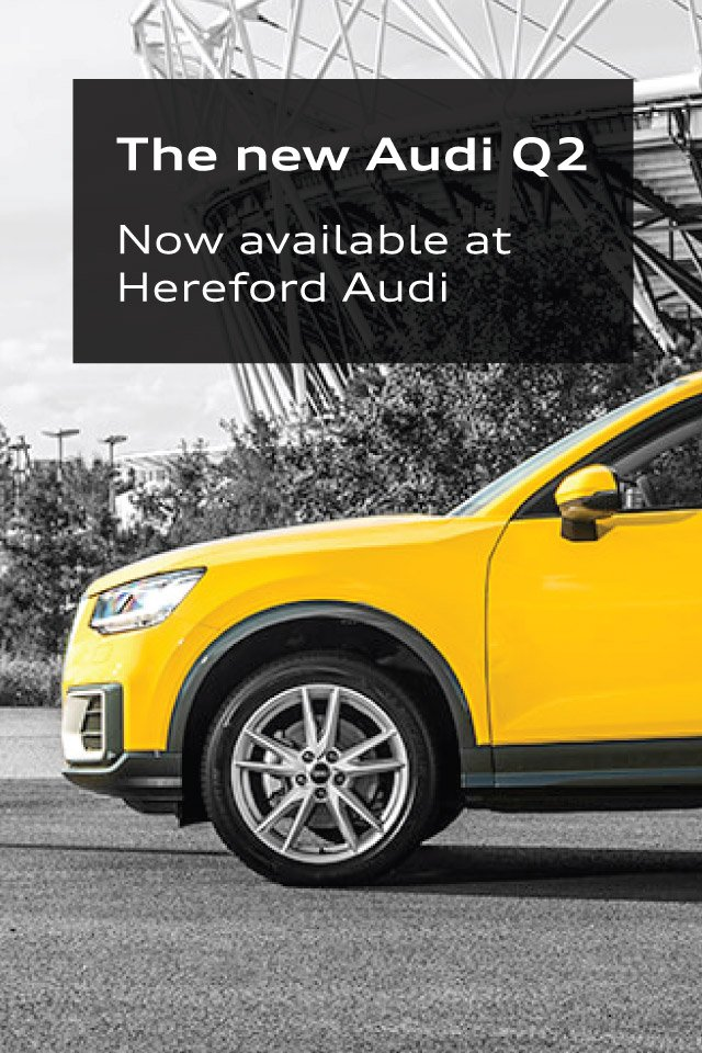 Audi Q2 Available now
