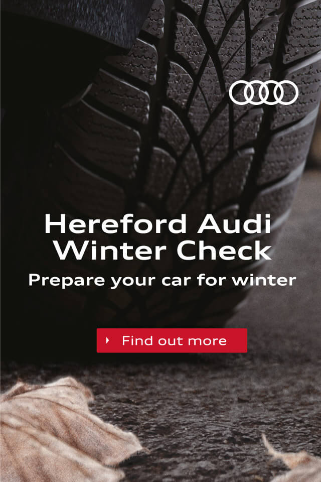 Hereford Audi Winter Check