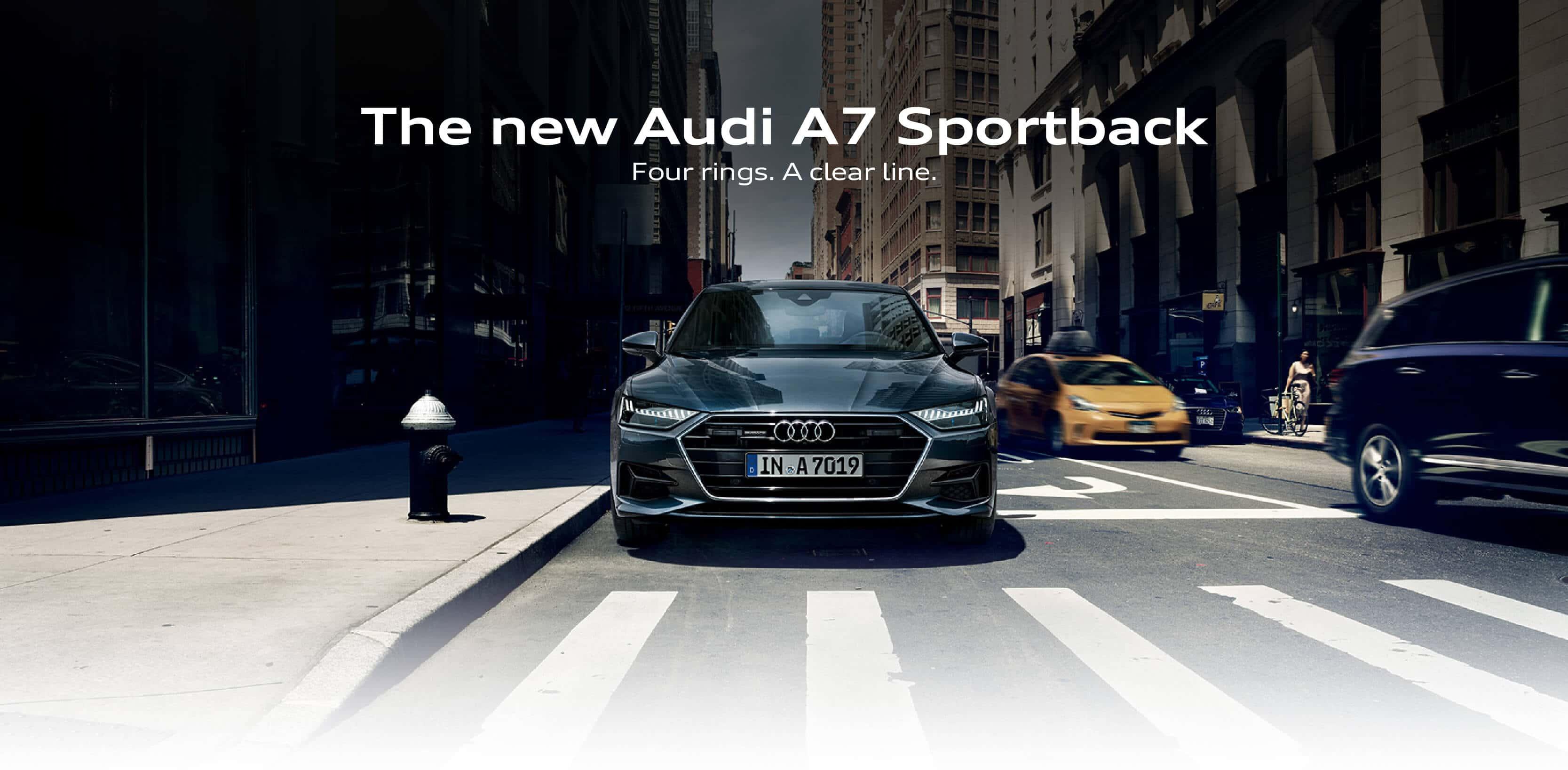 Audi A7 Landing page BB