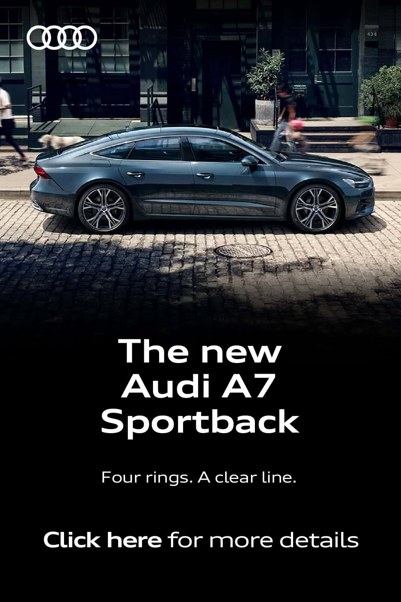 The new Audi A7 BB