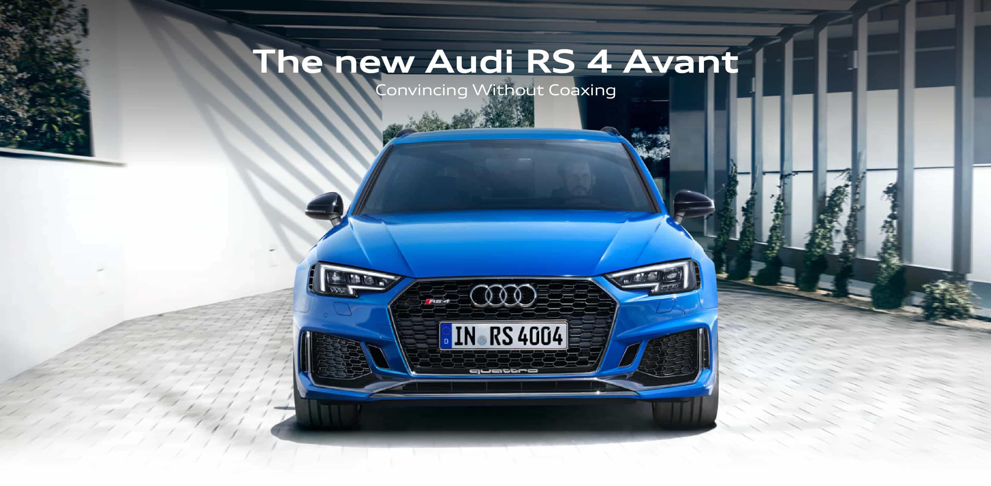 Audi RS4 Landing page BB