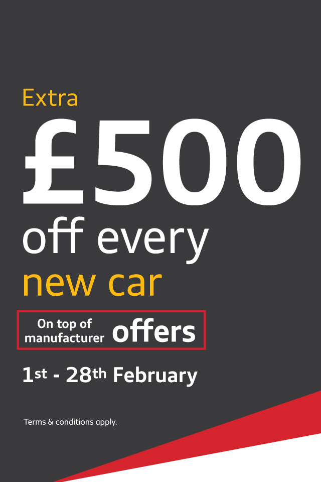 £500 Off New Car February 2018 - Audi