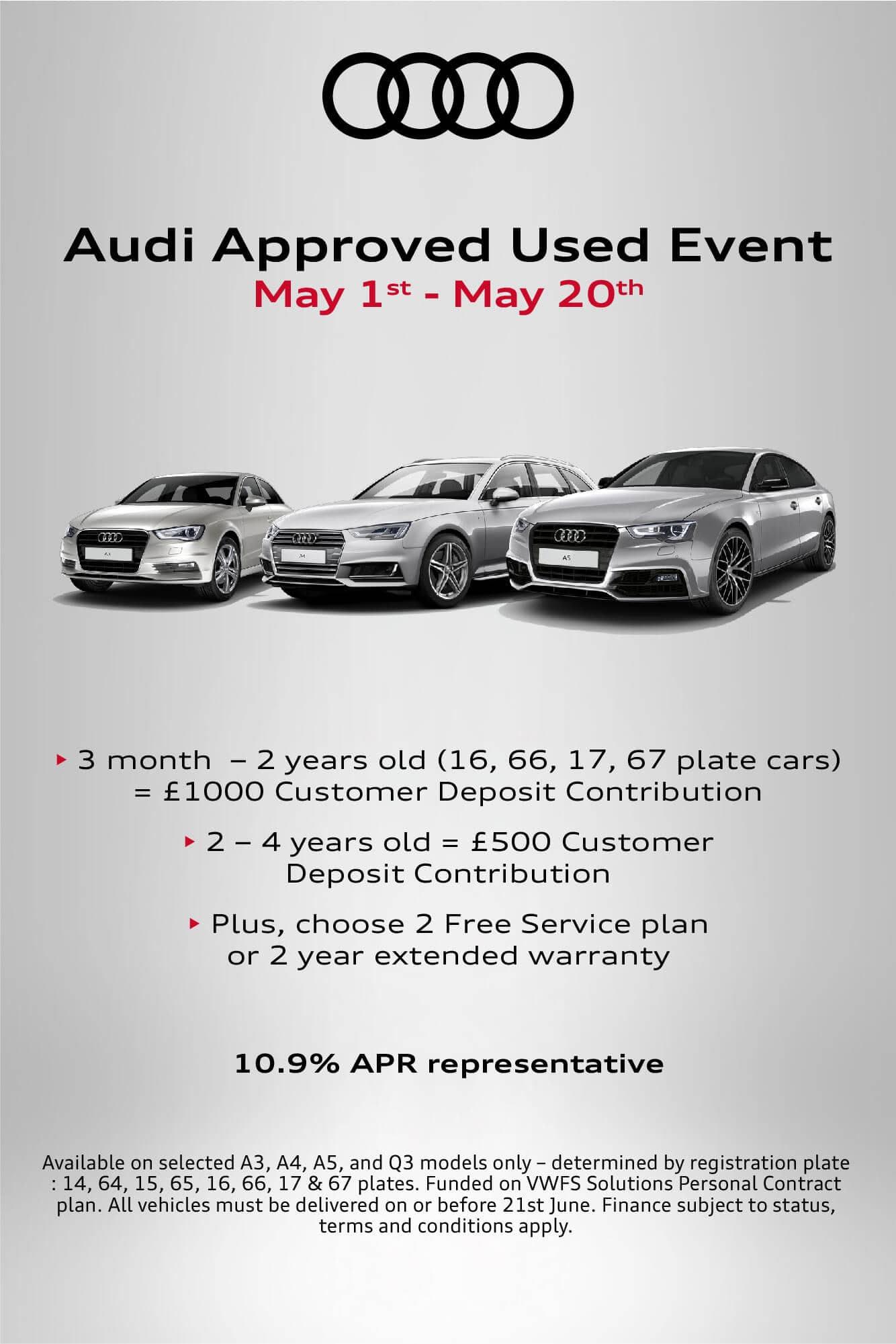 Audi Used Car Event BB