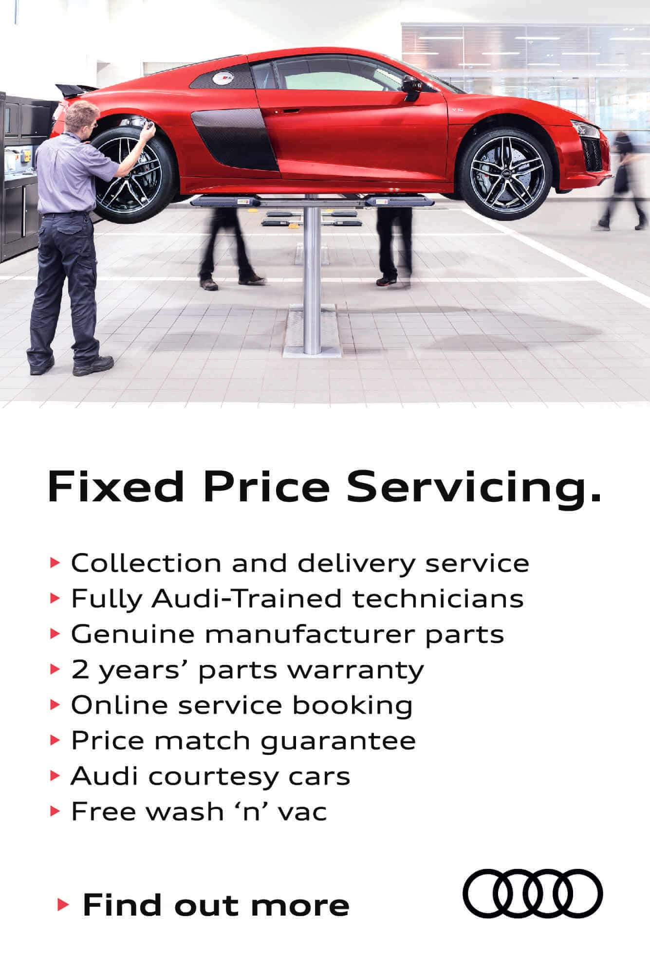 Audi Fixed Price Servicing BB