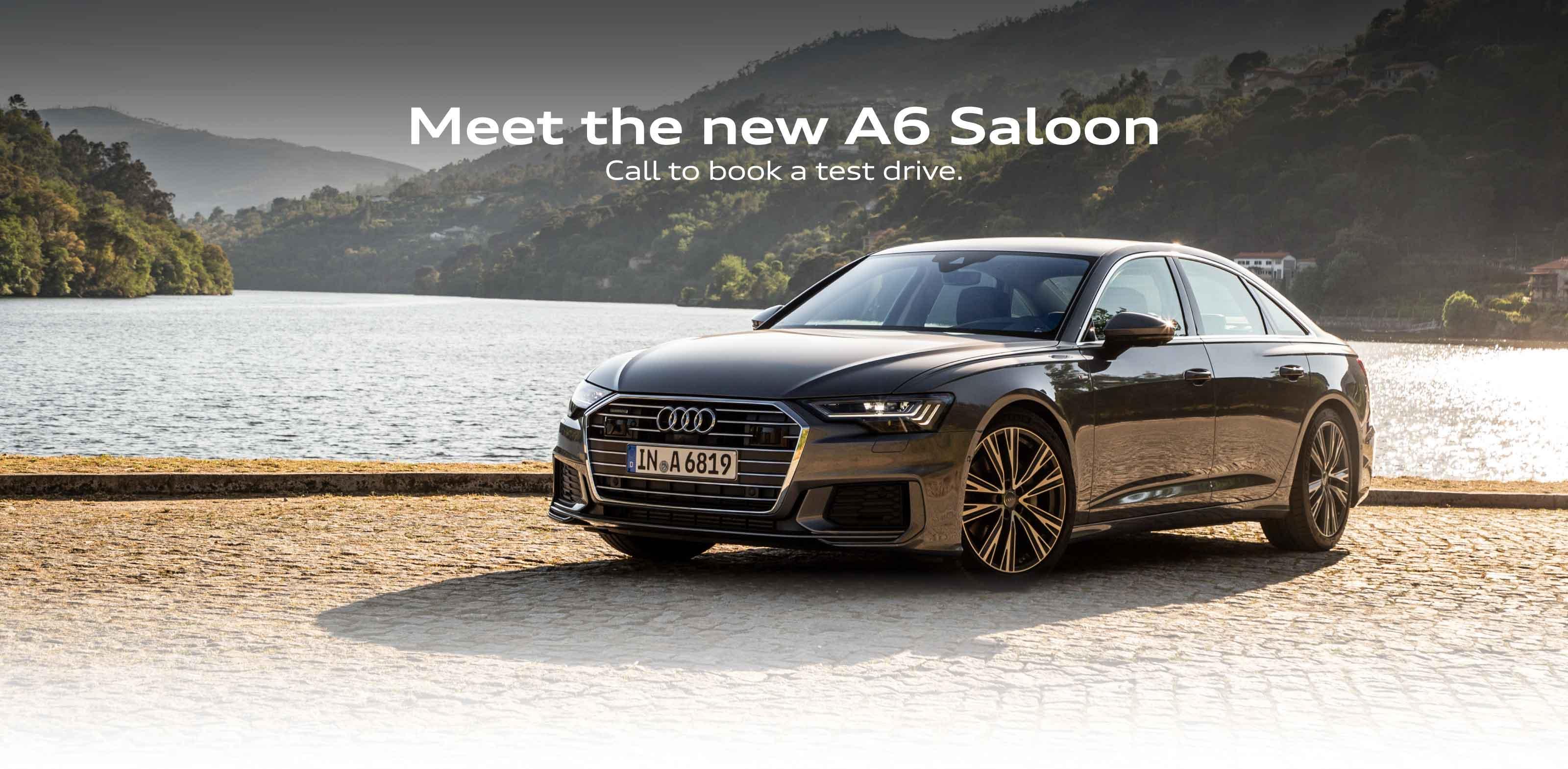 Audi A6 Landing page BB
