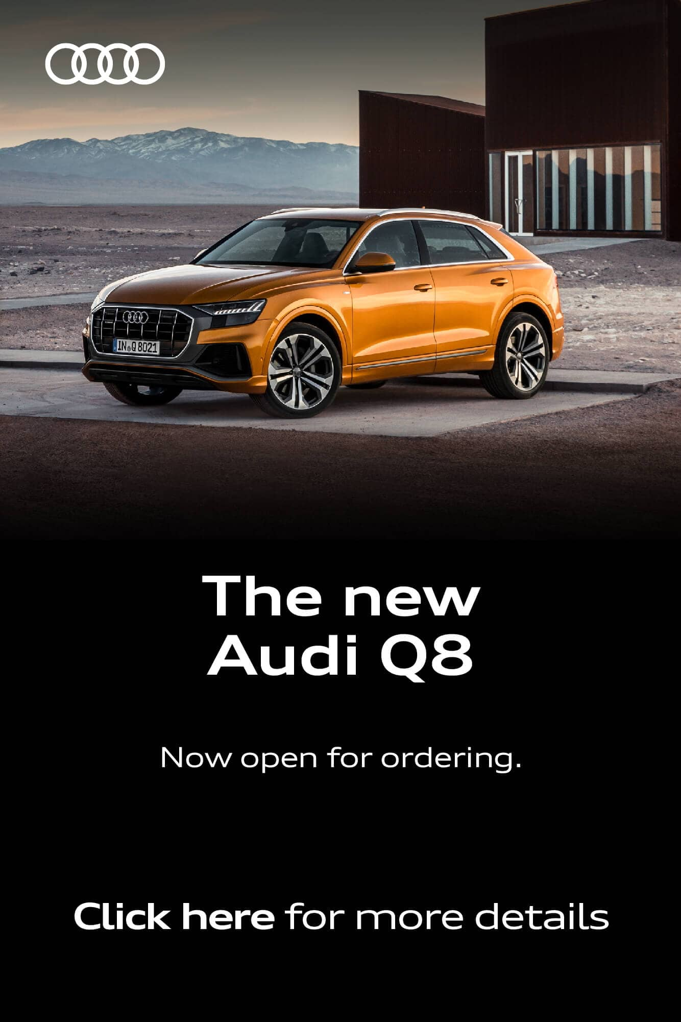 The New Audi Q8 BB