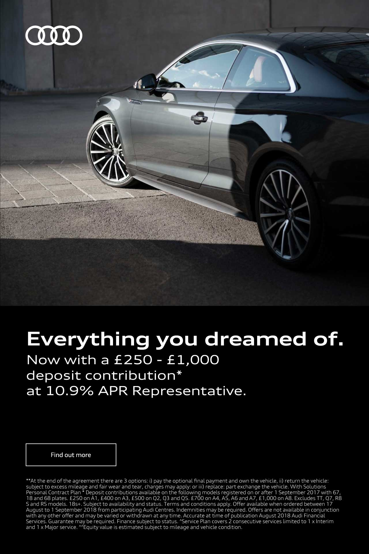 Audi Everything you dreamed of 280818