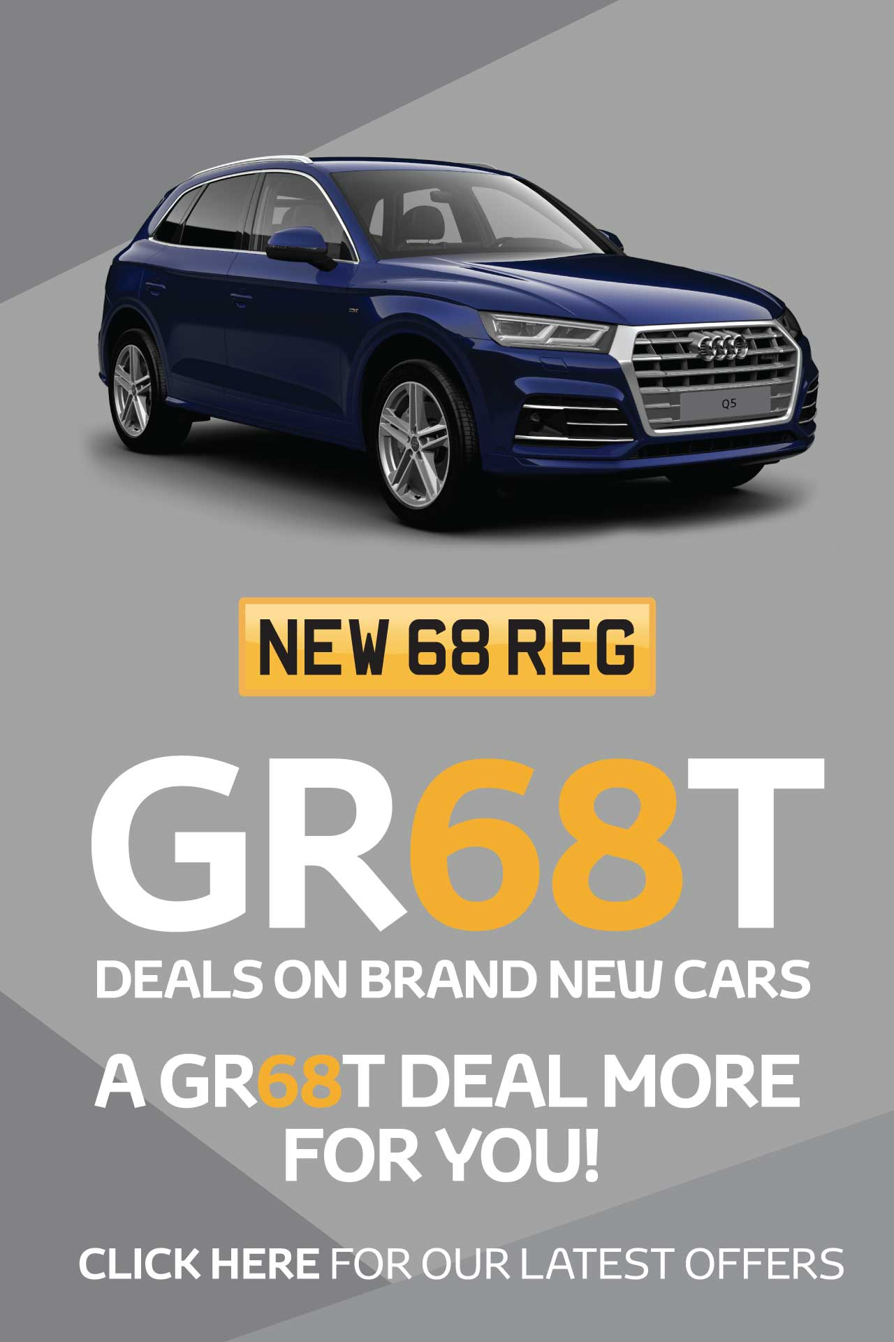 GR68T New Car August 2018 - Hereford Audi