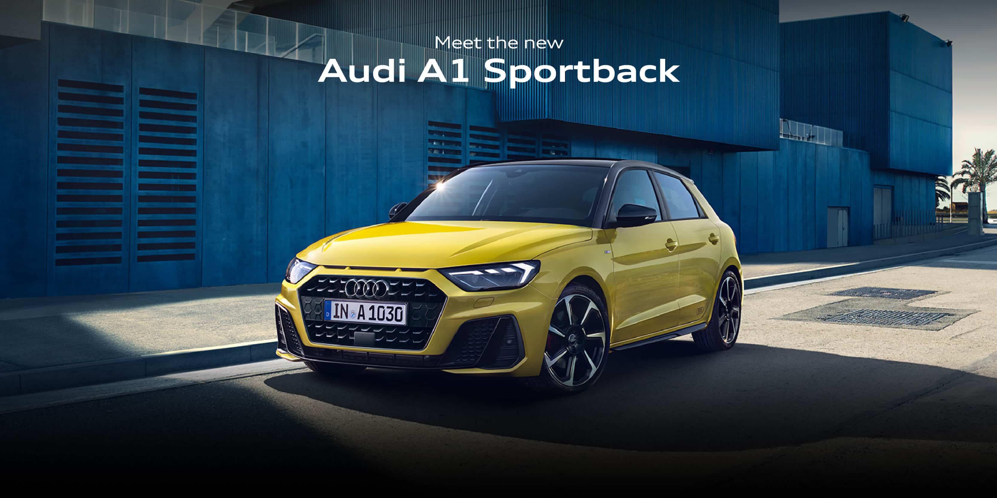 Audi E-tron Landing page BB