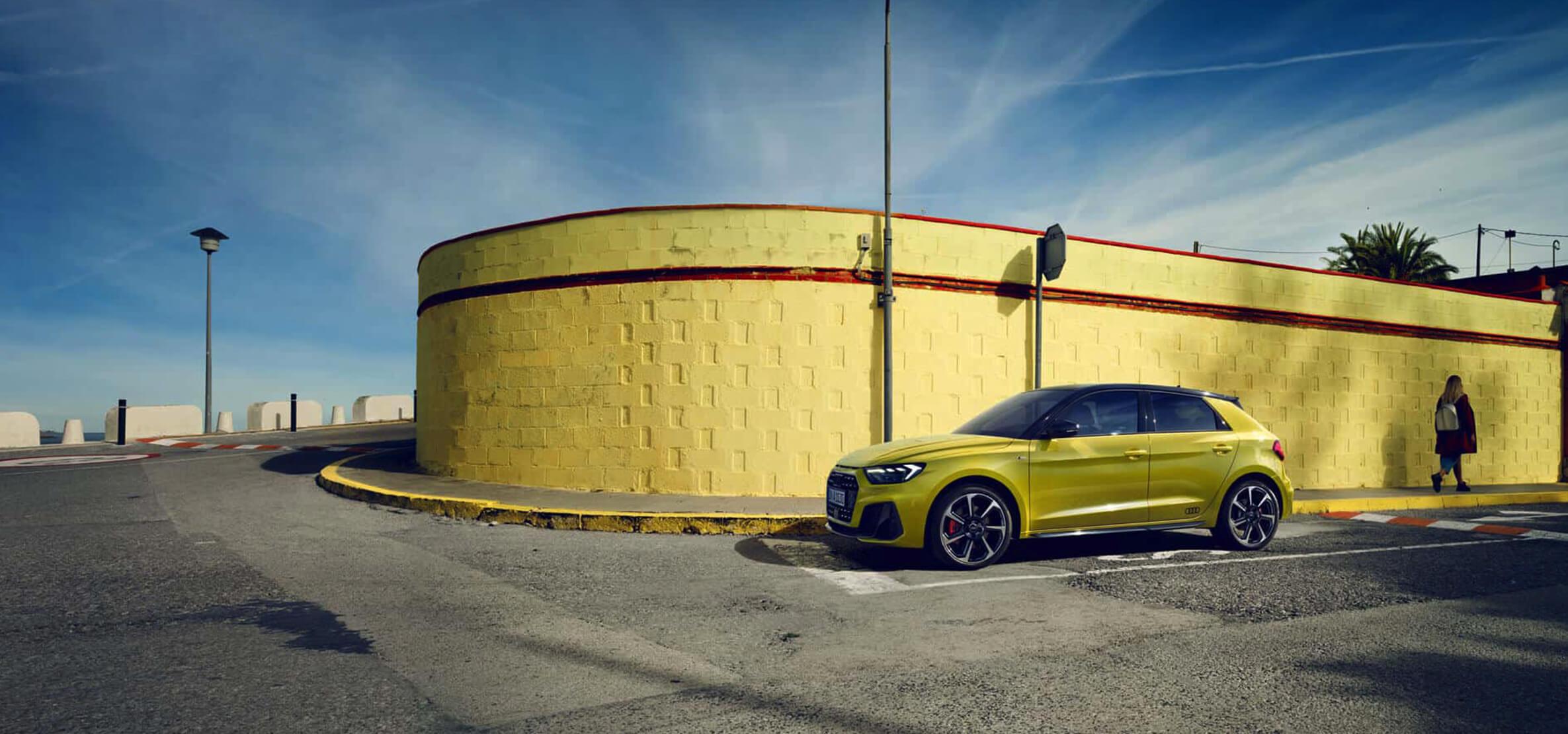 The New Audi A1 - Striking, spacious, sporty.