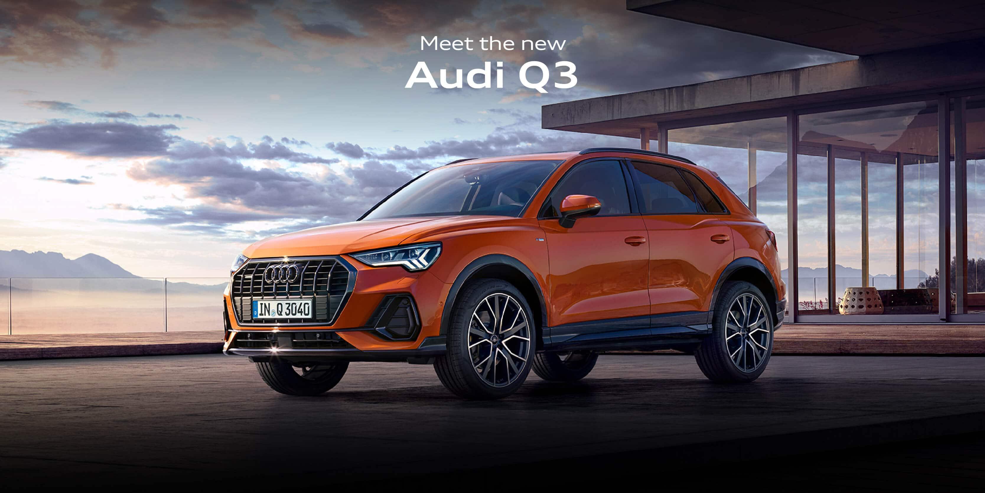 Audi Q3 Landing page BB
