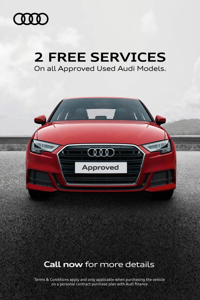 Audi Approved Used 2 Free Services BB