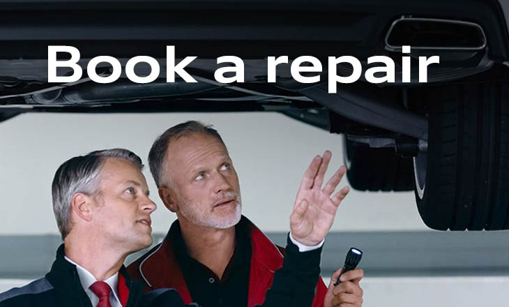 Book an Audi Repair