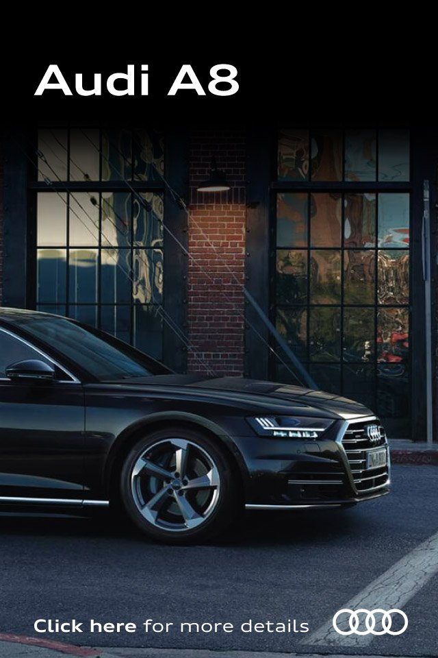 [Audi A8] The New Audi A8 010519 Banner 2