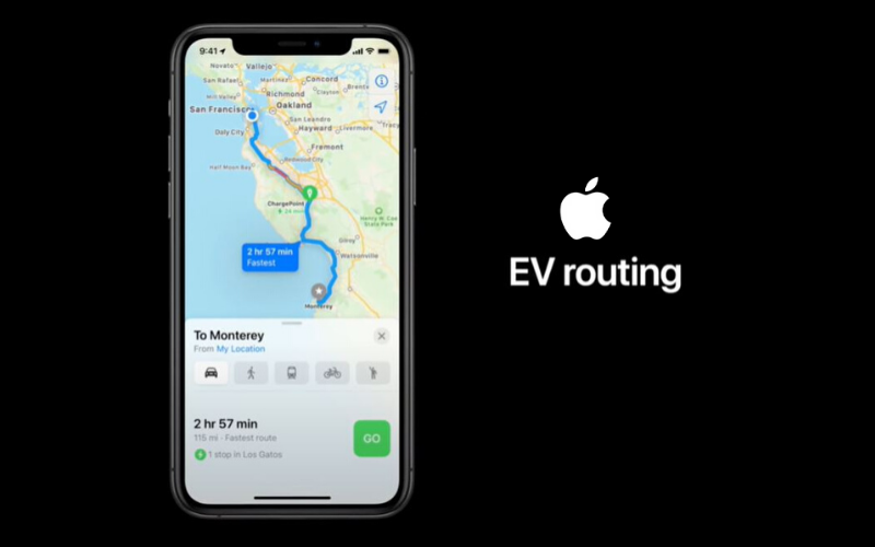 Good News For Audi E-Tron Drivers: Apple Maps Now Include EV Charge Routing