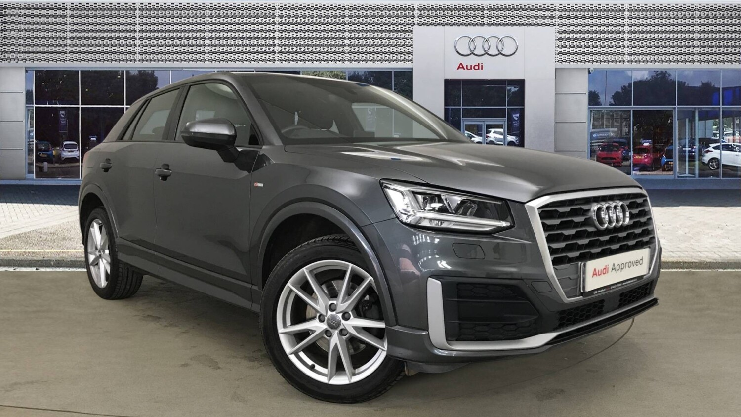used audi q2 1 4 tfsi s line 5dr petrol estate for sale hereford audi. Black Bedroom Furniture Sets. Home Design Ideas
