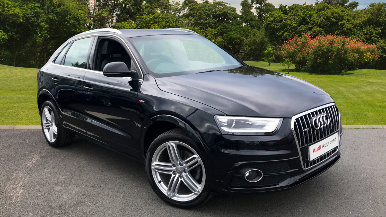 used audi q3 2 0 tdi 177 quattro s line plus 5dr diesel. Black Bedroom Furniture Sets. Home Design Ideas