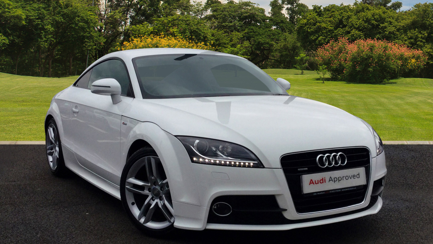 used audi tt 2 0 tdi quattro s line 2dr s tronic diesel coupe for sale hereford audi. Black Bedroom Furniture Sets. Home Design Ideas