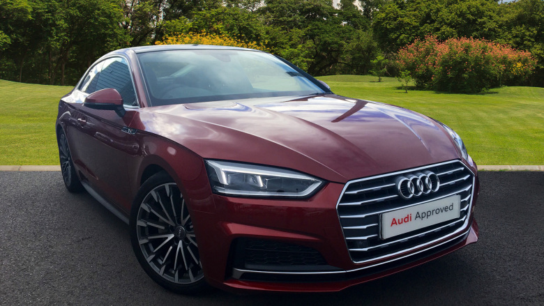 Audi A5 2.0 TDI S Line 2dr S Tronic [Tech Pack] Diesel Coupe