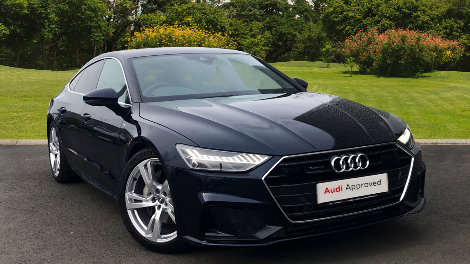 used audi a7 50 tdi quattro s line 5dr tip auto diesel hatchback for sale hereford audi. Black Bedroom Furniture Sets. Home Design Ideas