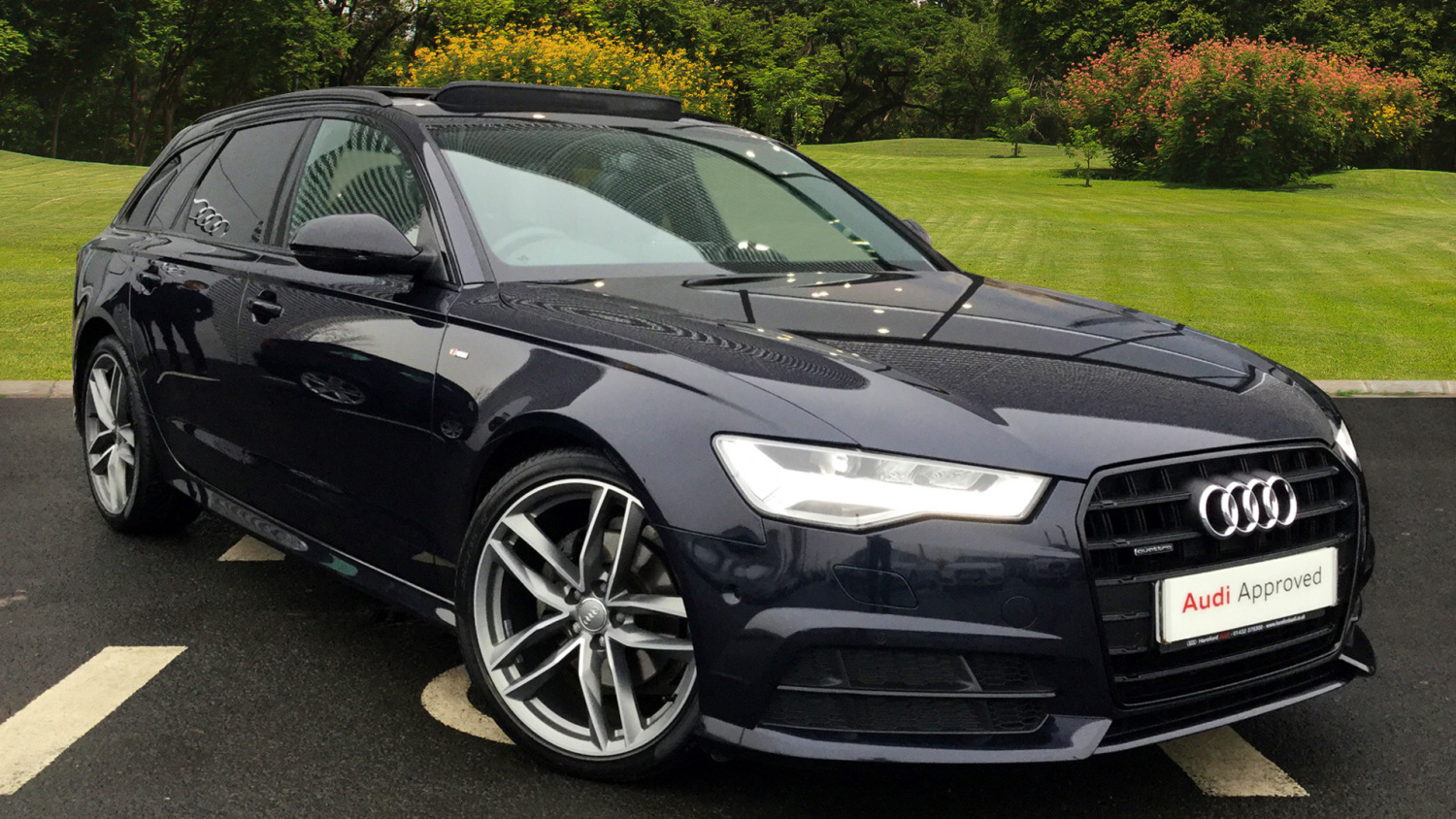 used audi a6 2 0 tdi quattro black edition 5dr s tronic. Black Bedroom Furniture Sets. Home Design Ideas