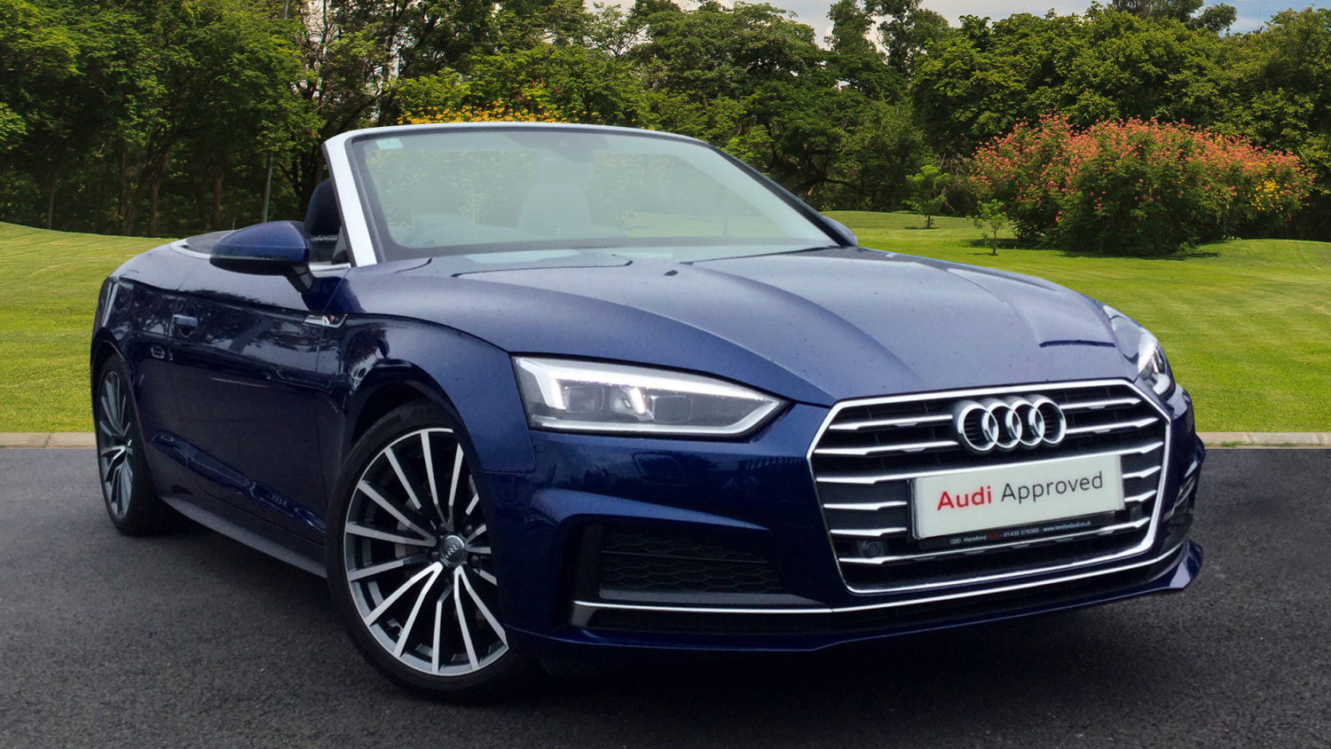 used audi a5 2 0 tdi s line 2dr s tronic diesel convertible for sale hereford audi. Black Bedroom Furniture Sets. Home Design Ideas