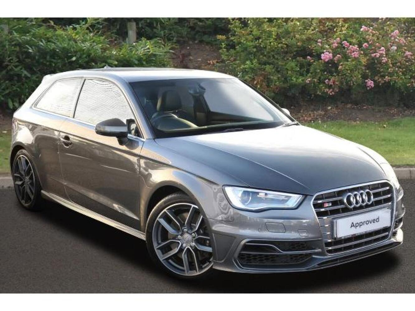used audi a3 s3 tfsi quattro 3dr s tronic petrol hatchback for sale hereford audi. Black Bedroom Furniture Sets. Home Design Ideas