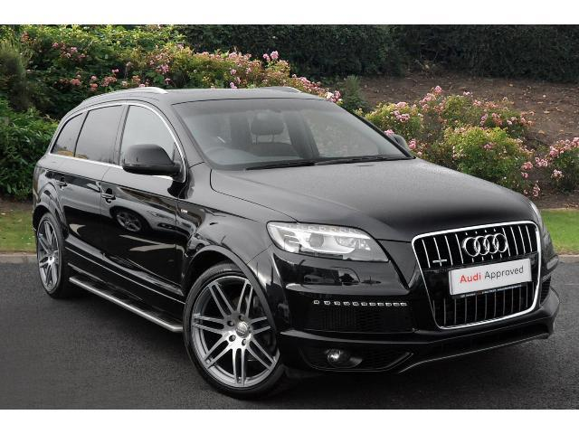 book a used audi q7 4 2 tdi quattro s line 5dr tip auto 8 diesel estate test drive hereford audi. Black Bedroom Furniture Sets. Home Design Ideas