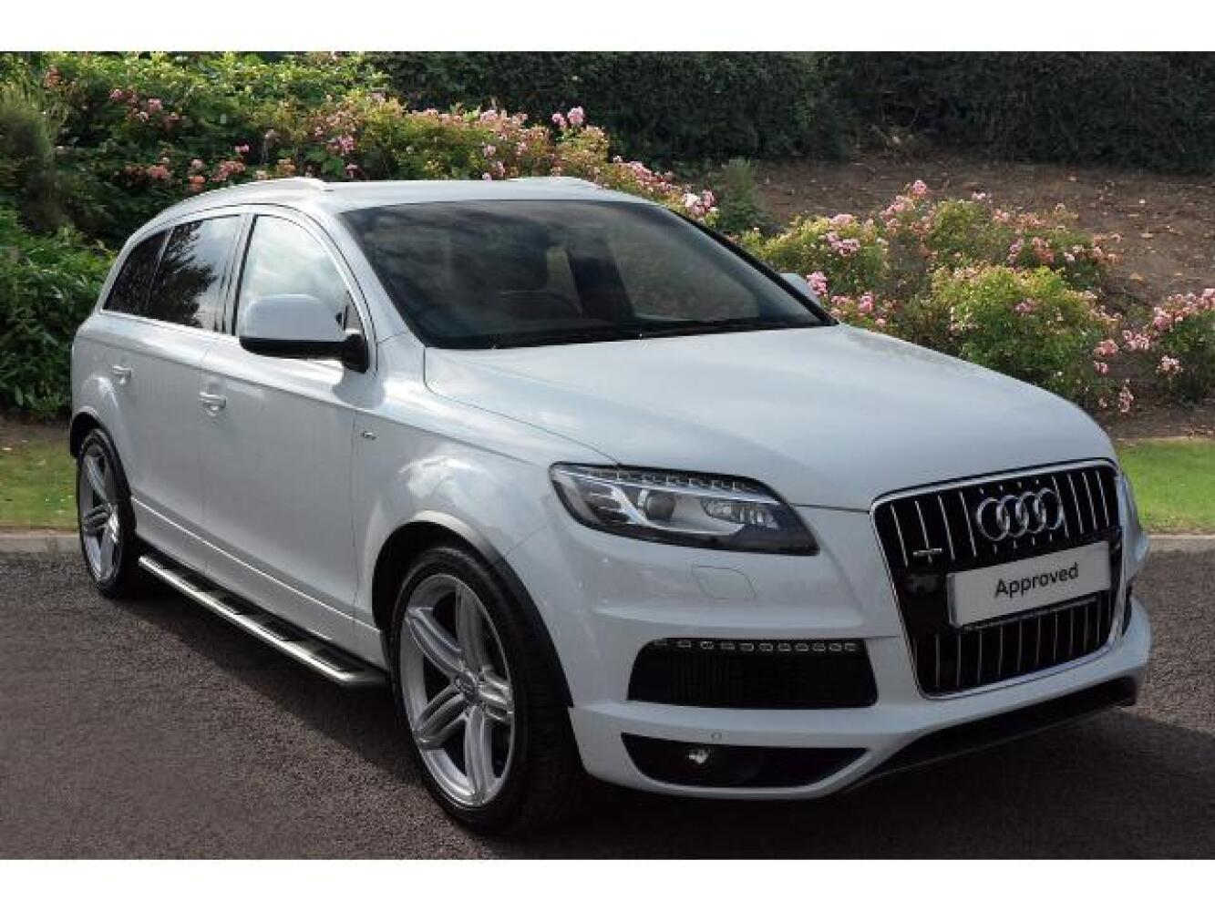 used audi q7 3 0 tdi 204 quattro s line plus 5dr tip auto diesel estate for sale hereford audi. Black Bedroom Furniture Sets. Home Design Ideas