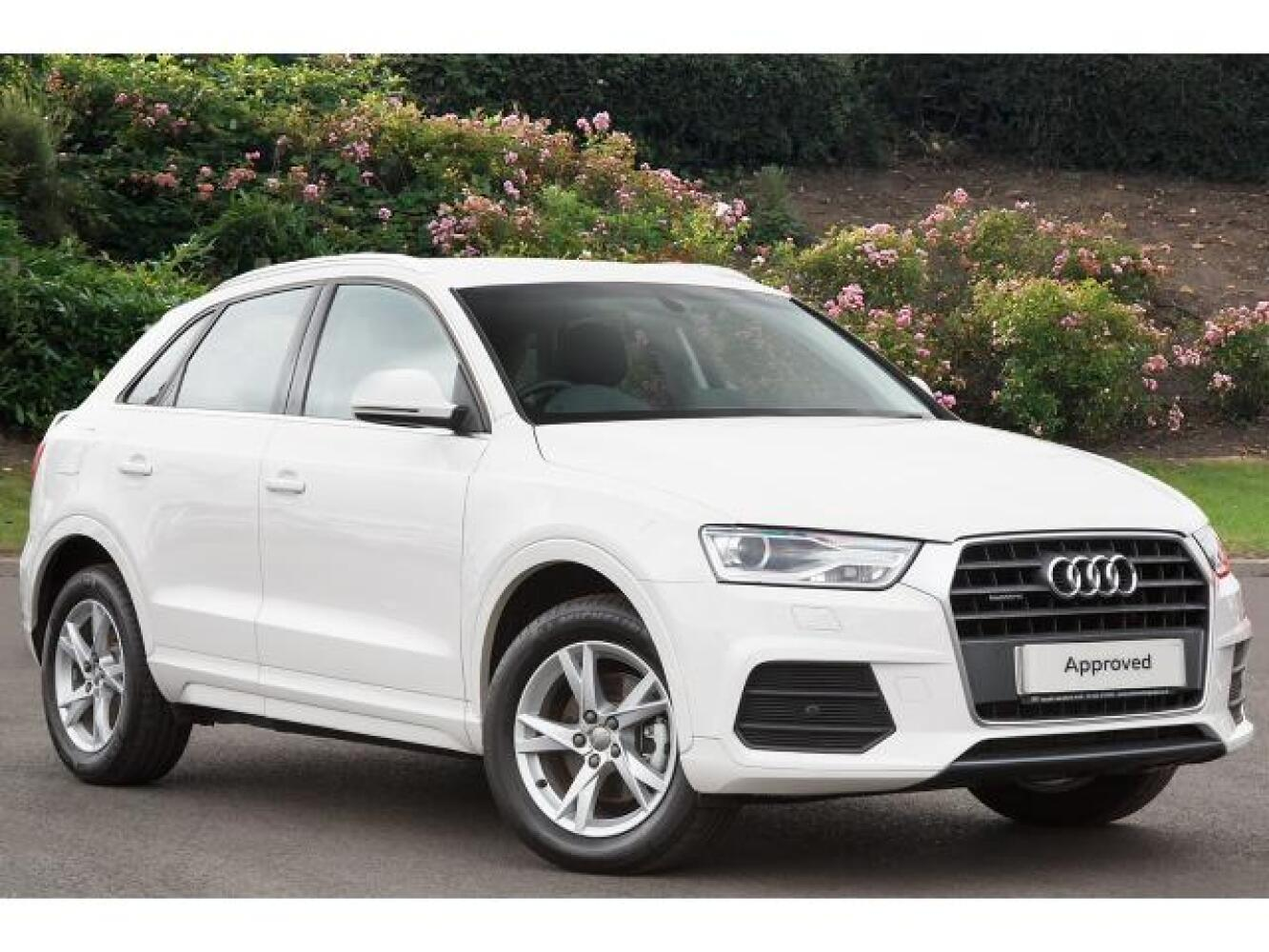 used audi q3 2 0 tdi quattro se 5dr s tronic diesel estate. Black Bedroom Furniture Sets. Home Design Ideas