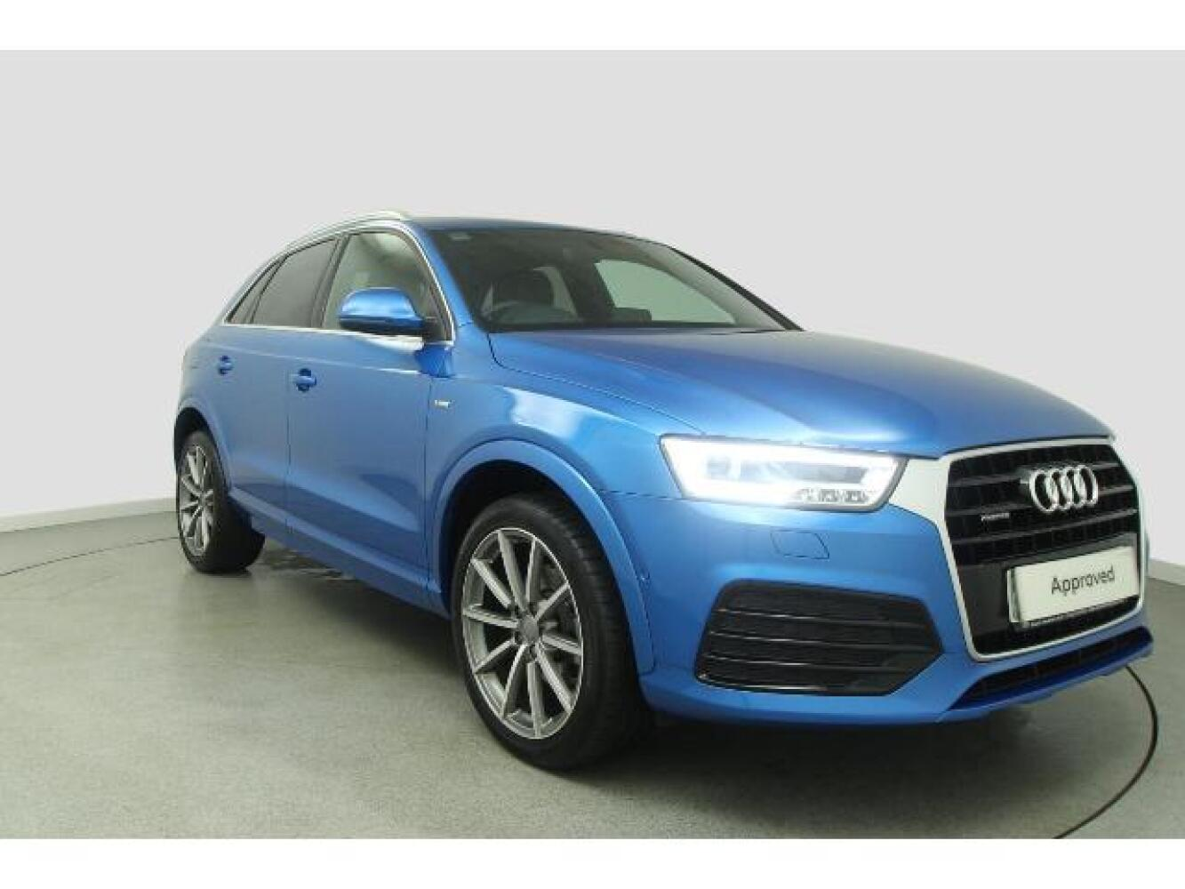 used audi q3 2 0 tdi 184 quattro s line plus 5dr s. Black Bedroom Furniture Sets. Home Design Ideas