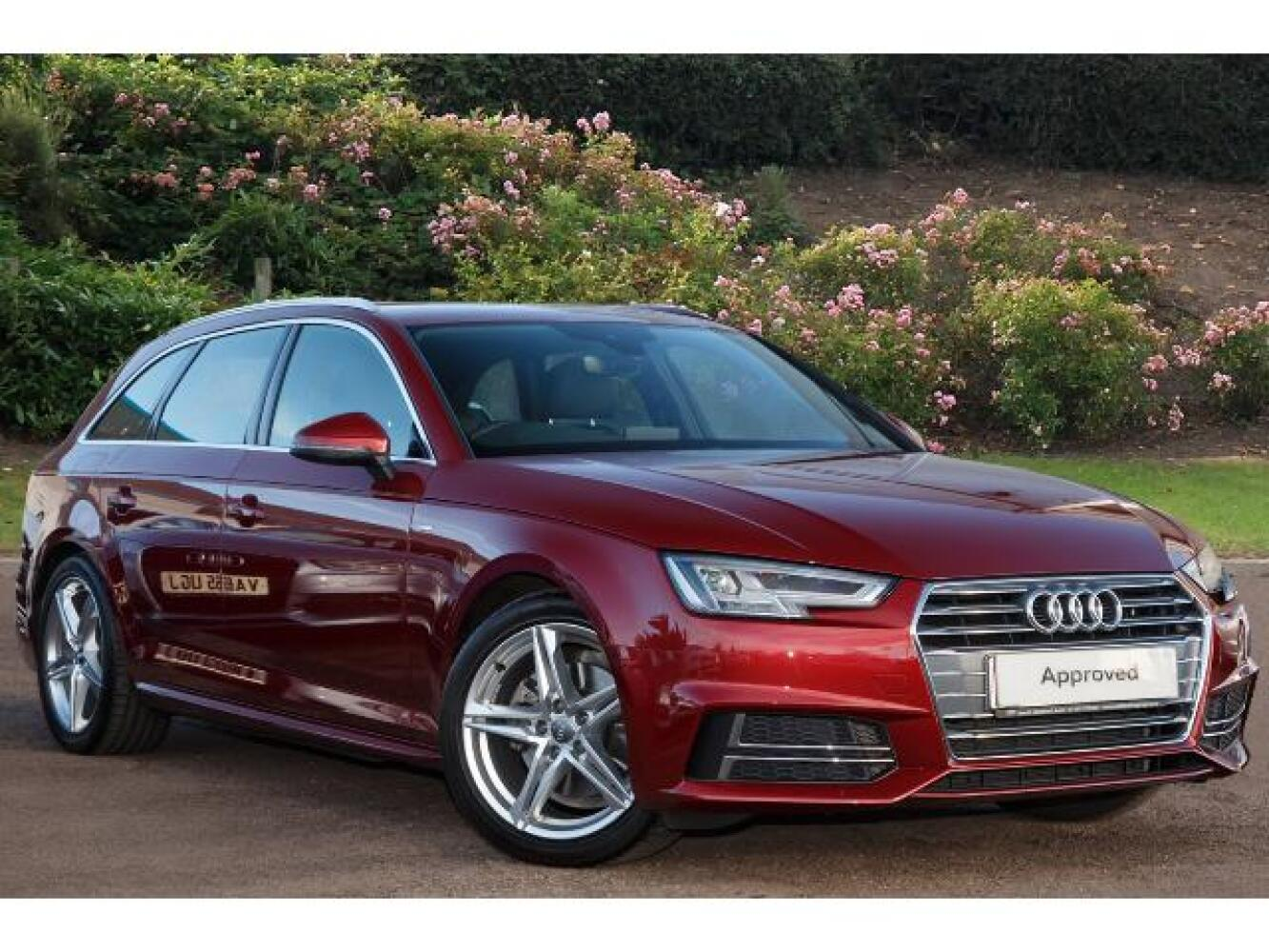 used audi a4 2 0 tdi s line 5dr s tronic diesel estate for. Black Bedroom Furniture Sets. Home Design Ideas
