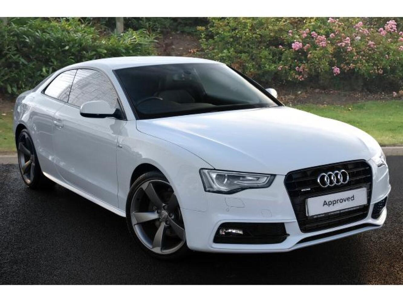used audi a5 3 0 tdi 245 quattro black edition 2dr s. Black Bedroom Furniture Sets. Home Design Ideas